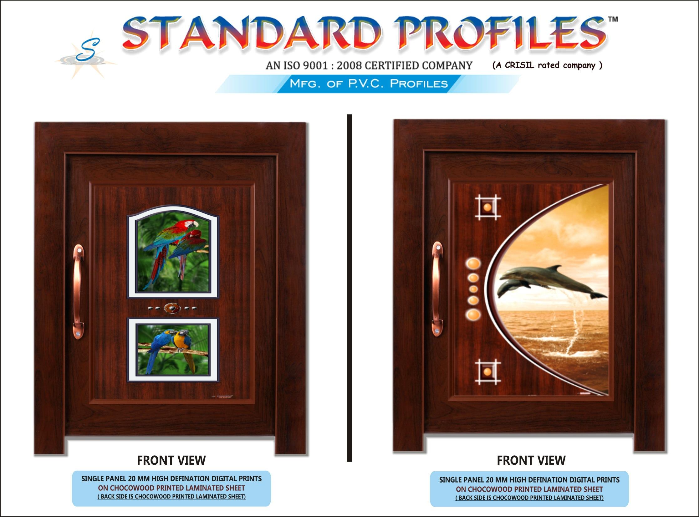 Pvc Door Standard Profiles